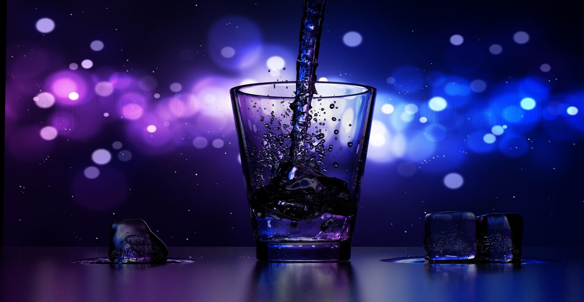 violet-shot-glass